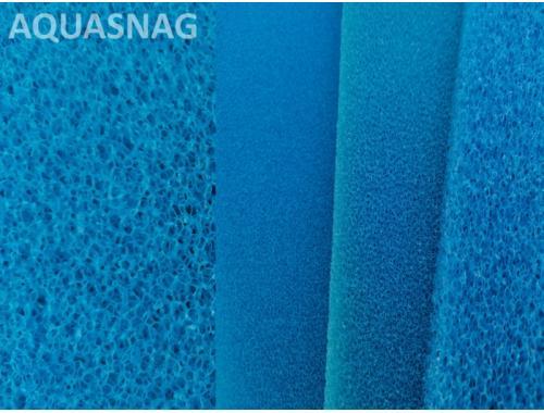 Фото Мочалка синяя, лист (49*49*2)см, крупнопористая aquasnag.com