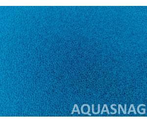 Мочалка синяя, лист (дл49*ш49*тол2)см, среднепористая