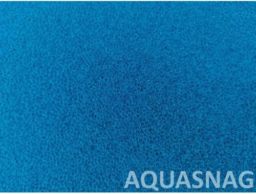Фото Мочалка синяя, лист (дл49*ш49*тол2)см, среднепористая Купить