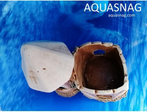 Фото Замочек двойной,  дл 15см, шир 9см, выс 16см aquasnag.com