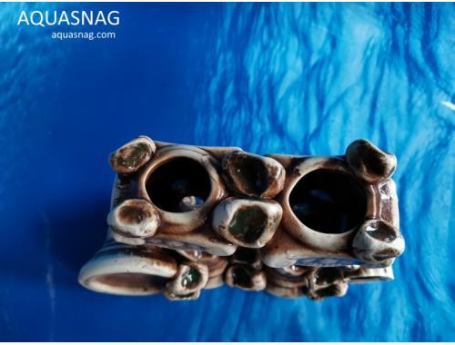 Фото Колонны,  дл 18см, шир 7см, выс 12.5см, коричневые aquasnag.com