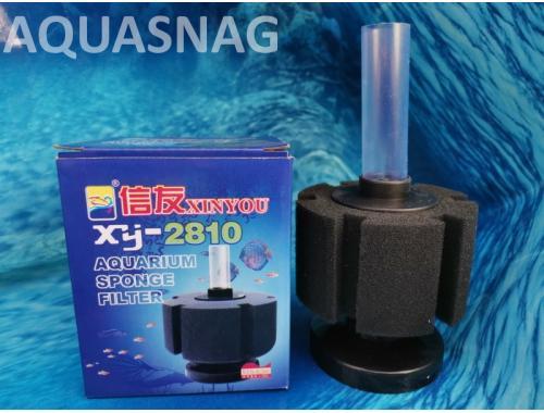Фото Фильтр для компрессора XY-2810  (аэрлифтный) (d-8.5xh-5)см Купить
