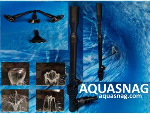 Фото Фонтанный насос с насадками Sunsun HJ-500,  0.9м, 500l/h, 7W, с регулировкой мощности aquasnag.com