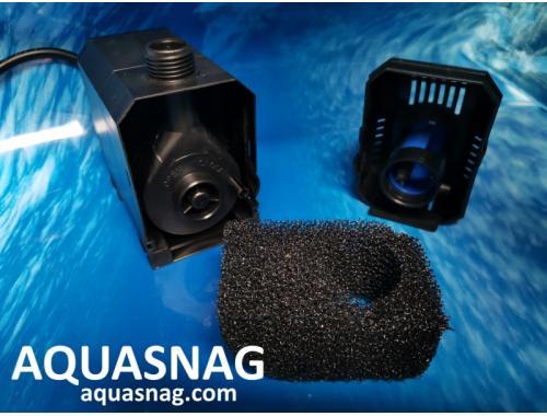 Фото Фонтанный насос Sunsun HJ-600 с насадками Atman S  (1.3м, 600l/h, 8W) с регулировкой мощности Смотреть