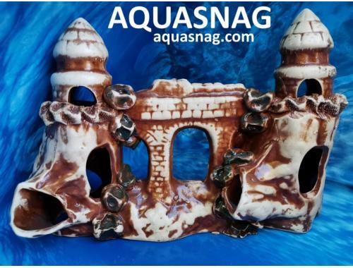 Фото Замочки с аркой,  дл 31см, шир 13см, выс 20см, коричневые aquasnag.com