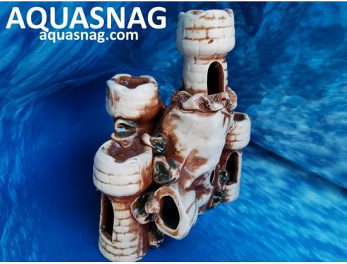 Фото 5/3381к Наскальные домики  дл см, шир см, выс см, коричневый aquasnag.com