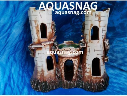 Фото Замок  большой тройной,  дл 26.5см, шир 15см, выс 24см Купить
