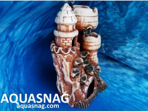 Фото Тура с башенками,  дл 22см, шир 14.5см, выс 21см, коричневая Купить