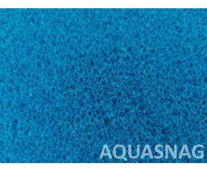Мочалка синяя, лист (49*49*2)см, крупнопористая
