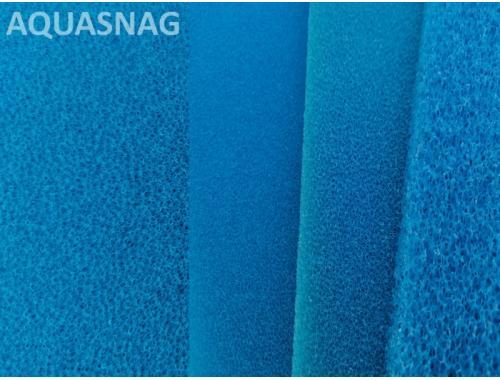Фото Мочалка синяя, лист (49*49*2)см, мелкопористая Купить
