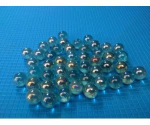 Стеклянные шарики, светлые. Набор из 10шт