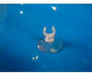 """Присоска силиконовая типа """"рогач"""" №4 с диаметром (1.2-1.6)см, диаметр прилипающей поверхности 4см"""