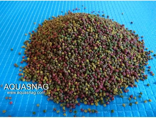 Фото Микс гранулы №3 -100г, витаминизированный корм для рыб, ТМ Золотая Рыбка aquasnag.com