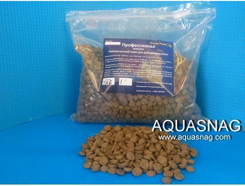 Фото Профессионал в таблетках -500г, универсальный корм для рыб, ТМ Золотая Рыбка aquasnag.com