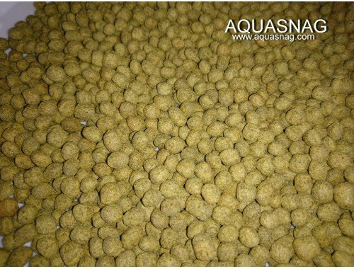 Фото Кои Макси, зеленый -100г, основной, витаминизированный корм для крупных прудовых рыб aquasnag.com