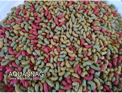 Фото Кои палочки крупные, разноцветные, 250г- универсальный корм для КОИ Купить