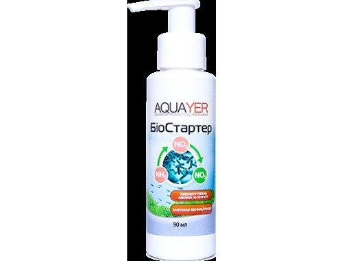 Фото AQUAYER Биостартер, борется с помутнением воды (наличие белой мути) Купить