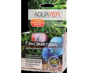 AQUAYER Гексаметрил, против эктопаразитов, включая ихтиофтириоз,  грибков, бактерий, вирусов