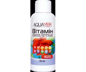 AQUAYER Витамин 60мл, усиливает окраску, способствует заживлению ран