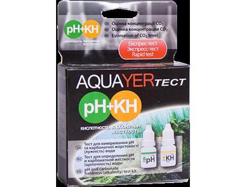 Фото AQUAYER тест pH+КН aquasnag.com