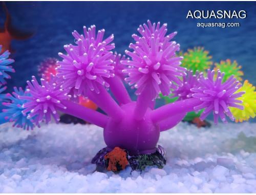 Фото Актиния силиконовая  Грибок RT-182S, фиолетовая Купить