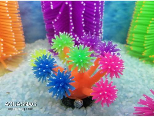 Фото Актиния силиконовая  Грибок RT-182S, оранжевоцветная Смотреть