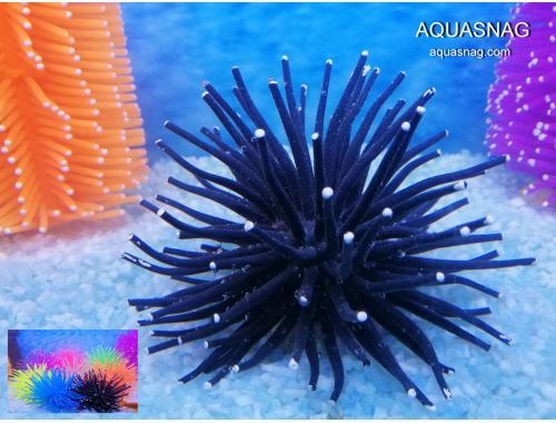 Фото Актиния силиконовая Ёжик RT-172М, черная aquasnag.com