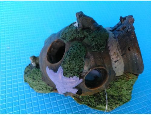 Фото Амфора мини с лягушкой QB-029 Купить