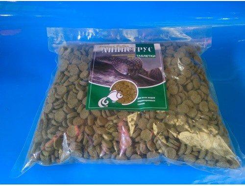 Фото Анциструс -1кг,  крупный, витаминизированный корм для рыб, ТМ Золотая Рыбка Смотреть
