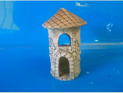 Фото Башня с крышей, d-5см, h-10см Купить