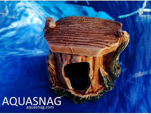 Фото Черепашник малый,  дл 12см, шир 9см, выс 10.5см aquasnag.com