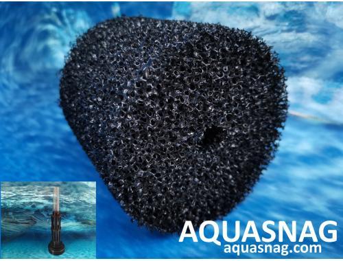 Фото Cменная губка Professional на аэрлифт  XY-2811 (размер мочалки: d-10см, h-10см), крупнопористая aquasnag.com