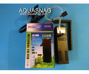 Фильтр Hidom AP-600L, до 60л, с регулировкой мощности, 300л/ч, 4W