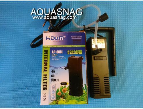 Фото Фильтр Hidom AP-600L, до 60л, с регулировкой мощности, 300л/ч, 4W Купить