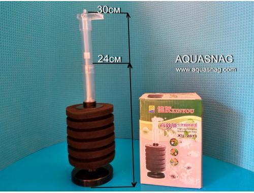 Фото Фильтр для компрессора XY-2871 с телескопической трубкой (аэрлифтный) aquasnag.com