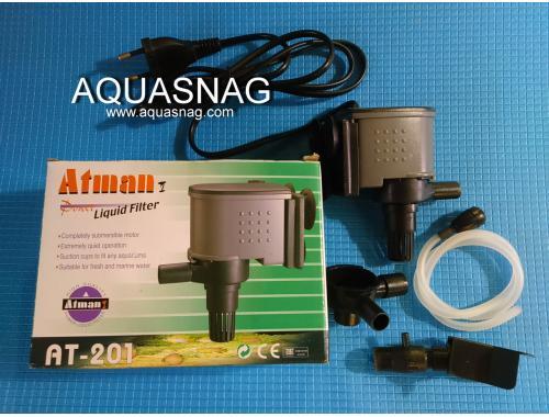 Фото Фильтрующая головка Atman АТ-201, 650л/ч, 15W, Hmax-0.9м, от 100л до 250л воды. Смотреть