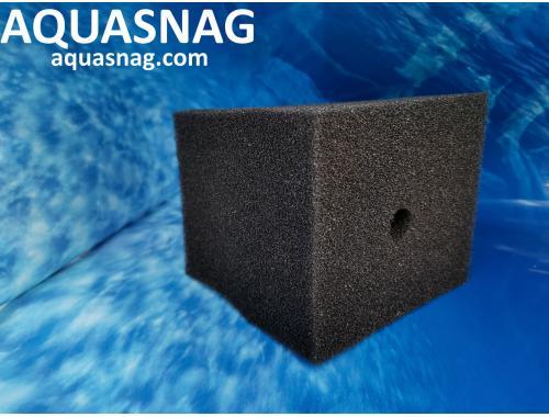 Фото Фильтрующий элемент  Professional  (10*10*12)см, мелкопористая сосквозным отверстием aquasnag.com