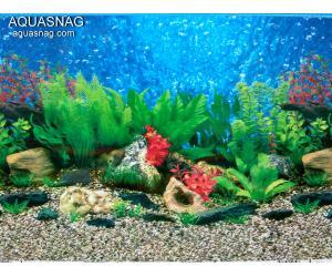 Фон для аквариума для аквариума односторонний высотой 50см(9019), цена за 10см