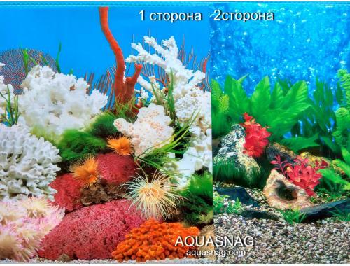 Фото Фон для аквариума для аквариума, плотный двухсторонний, высота 100cм(9029*9019), цена за 10см Купить