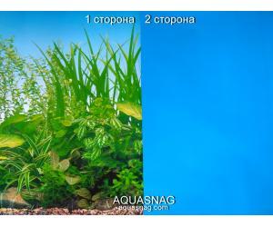 Фон для аквариума для аквариума плотный двухсторонний, высота 60cм(9051-голубой), цена за 10см