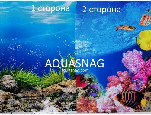 Фото Фон для аквариума двухсторонний, высота 40cм(9094-9095), цена за 15м Смотреть