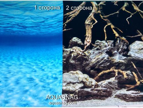 Фото Фон для аквариума двухсторонний, высота 45cм(133), цена за 15м Купить