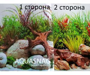 Фон для аквариума двухсторонний, высота 45cм(379), цена за 15м