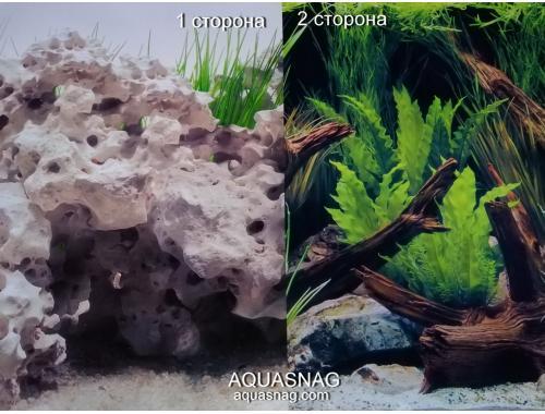 Фото Фон для аквариума двухсторонний, высота 45cм(965), цена за 15м Смотреть