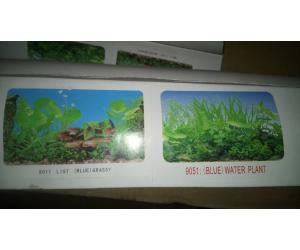 Фон для аквариума двухсторонний, высота 60cм(9011-9051), цена за 15м