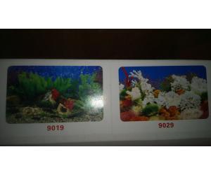 Фон для аквариума двухсторонний, высота 60cм(9019-9029), цена за 15м