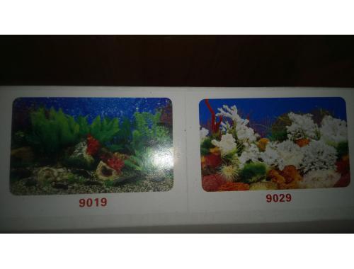 Фото Фон для аквариума двухсторонний, высота 60cм(9019-9029), цена за 15м Купить