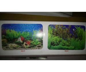 Фон для аквариума двухсторонний, высота 60cм(9019-9033), цена за 15м
