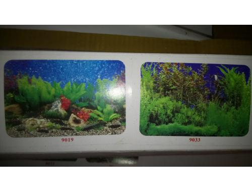 Фото Фон для аквариума двухсторонний, высота 60cм(9019-9033), цена за 15м Смотреть
