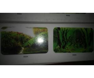 Фон для аквариума двухсторонний, высота 60cм(9084-9085), цена за 15м
